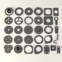industrial wheels+parts