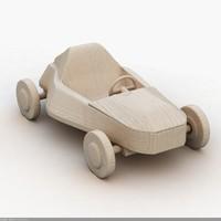 3d model toy car