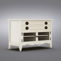 Pottery Barn - Andover Cabinet - Barrett Media Stand
