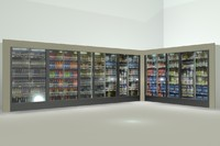 max beverage cooler display
