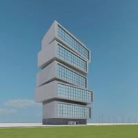 new skyscraper 90 3d model