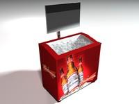 3d model bud cooler