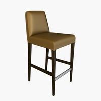ceccotti classic stool 3d model