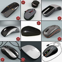 Computer Mouses Collection V4