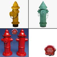 Fire Hydrants Collection