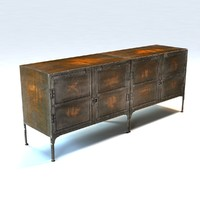 Restoration Hardware - INDUSTRIAL TOOL CHEST CONSOLES