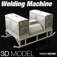 welding machine 3d model