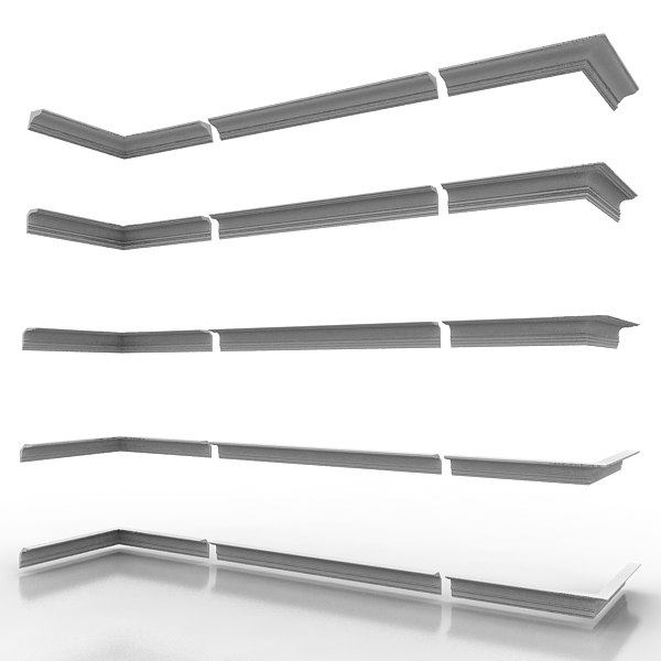 3d decorate cornice - Cornice Molding Pack 5... by bdcat