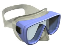 Snorkeling or Scuba Diving Goggles