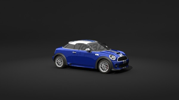 3d mini jcw - mini cooper... by too3D