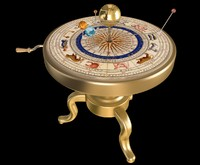 3d orrery animation