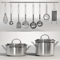 Pans and Utensils