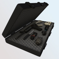 3d model seal team kit