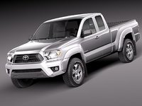 toyota tacoma access acces 3d 3ds