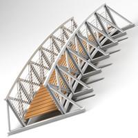 3d bridge 04 model
