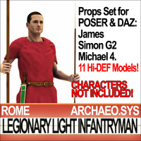 props set daz ancient rome vue