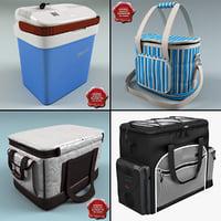 ice bags v2 3d model