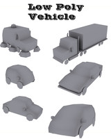 Low Poly Vehicle's