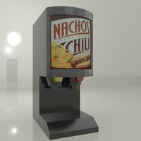 3d chilli cheese model