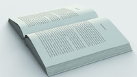 3ds max open book