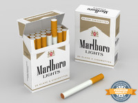Cigarettes Marlboro Lights