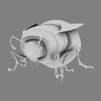 maya stylized bee