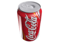 Soft drink can