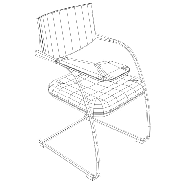 3d model of chair - Chair368... by Fworx