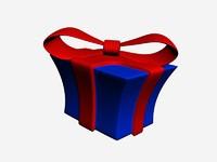 gift 3d model