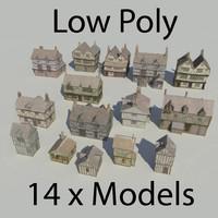 maya tudor medieval town houses