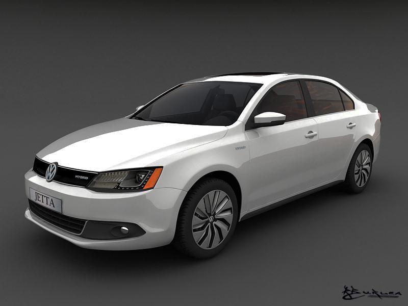volkswagen jetta hybrid   model