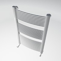 radiator heating 04 3d model