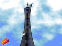 3dsmax tower