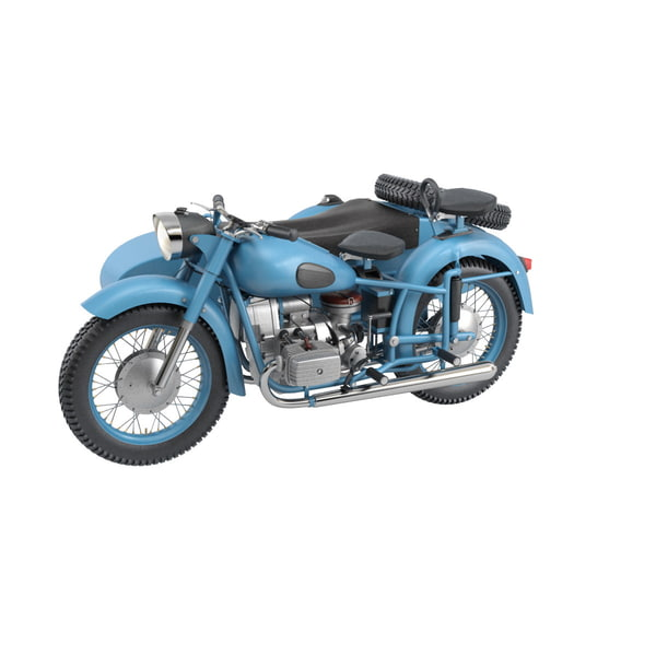 maya r71 motorcycle dnepr k-650 - Dnepr K-650 Bike... by RenderStuff