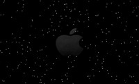 apple logo modeled blend free