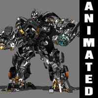 Animated Autobot - Truck (Partially rigged for animation)