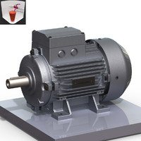3d 100 electric motor
