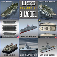 USS NAVY Transport Collection