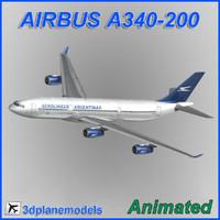 maya airbus a340-200