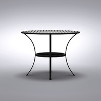 Restoration Hardware - Carmel Small Round Table