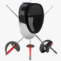 fencing weapons mask max