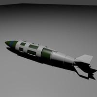 blender gbu-31b bomb jdam