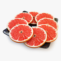 Grapefruit Lobule Orange
