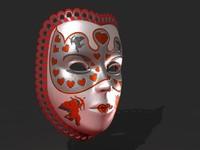 Venetian Carnival Mask 21