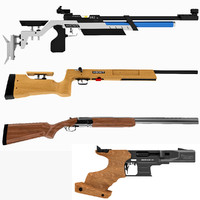 Olympic Shooting Rifles and Pistol