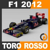 F1 2012 Toro Rosso STR7 - Scuderia Toro Rosso