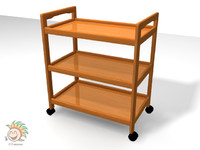 wooden trolley max