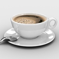 coffe cup Vray