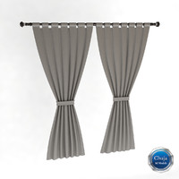 3ds max curtain