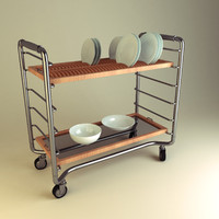 obj dish trolley